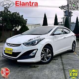 現在Elantra EX 極光、一手車、二手車、中古車、實車實價、全額貸款、超貸找錢、低月付、0元交車。