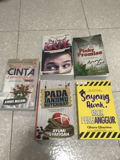 Cheap Malay novel!