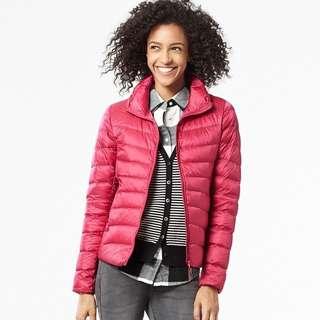 Uniqlo Ultra Light Down Jacket Pink