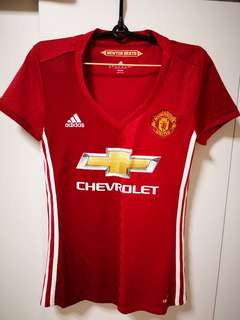 Ladies Manchester United Jersey