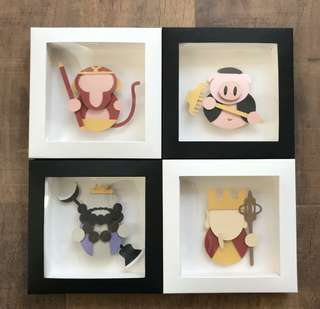 HANDMADE Journey to the west paper frame!!