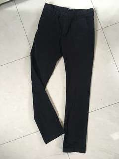 Zaraman basic collection black pants Straight fit