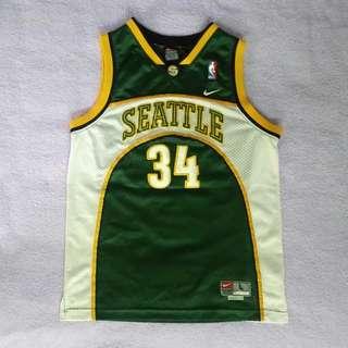 Ray Allen NBA球衣 NIKE 絕版 超音速 青年版 YL