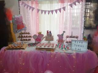 Dessert table package