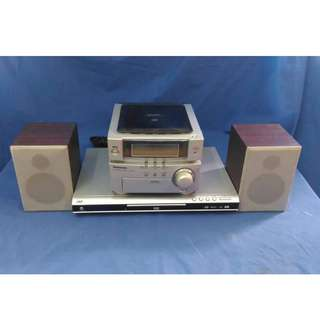 JNC SSD-2650 DVDCDPicture CD Player + Panasonic CD Stereo System SA-PM01 (Body) + Speaker