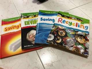 Green Kids 4books per set