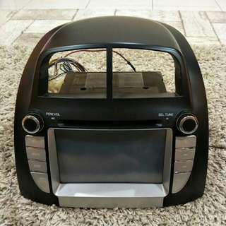 DOUBLE DIN PLAYER MYVI FIRST MODEL