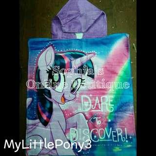 Kids Character Hooded Bath Towel - MY LITTLE PONY #3