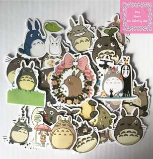 Set of 38pcs My Neighbor Totoro Sticker Flakes