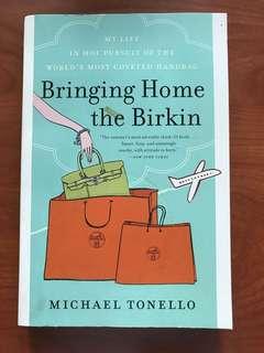 Bringing home the Birkin - book