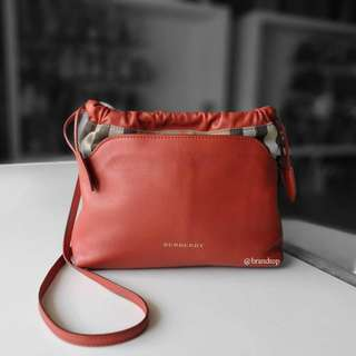 Authentic Burberry Little Crush House Check Crossbody Bag