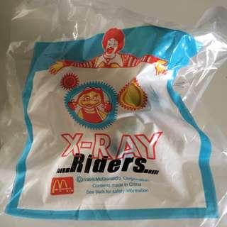 McDonald Toy (X-RAY Riders 1998)