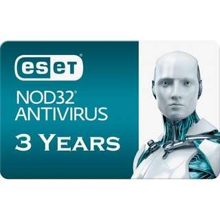 ESET NOD32 Antivirus 3 years license English