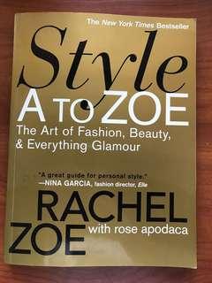 Fashion Book - Style A to Zoe