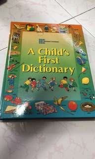 A Child'a First Dictionary