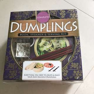 Dumplings - book, steamer and serving kit