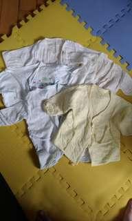 新生兒紗布衣 5件(買可贈)