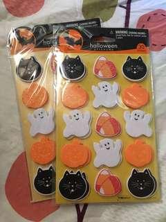萬聖節海棉貼紙 Halloween Stickers