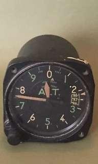 Vintage Aircraft Altimeter