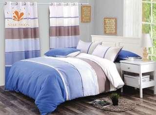 Bedsheet w/curtain
