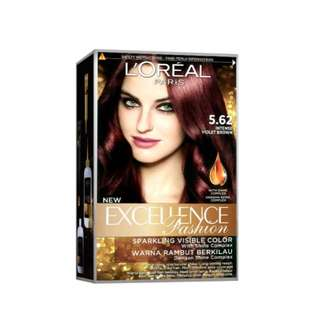 L'Oreal Excellence Fashion (5.62 Intense Violet Brown)