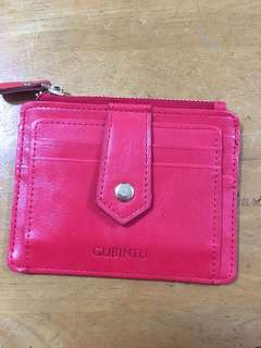 coin & card holder (red)