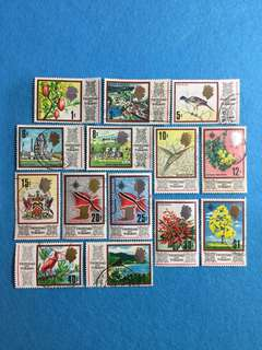 1969 Trinidad & Tobago 14V Used Short Set