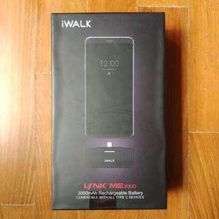 BNIB iWalk Link 3000mAh Battery Pack