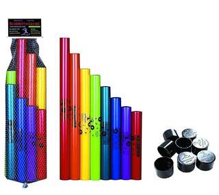 Boomwhackers and Octavator Caps bundle