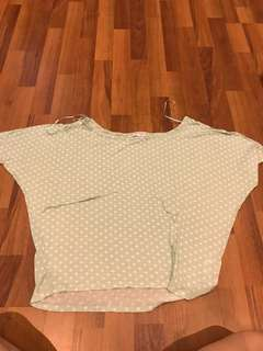 Cotton on oversize top