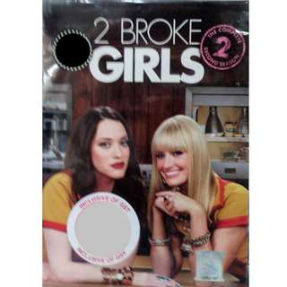 English Drama 2 Broke Girls The Complete Second Season DVD