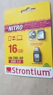 16gb Strontium OTG USB
