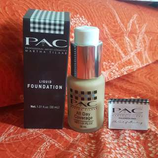 PAC LIQUID FOUNDATION  SQ C02