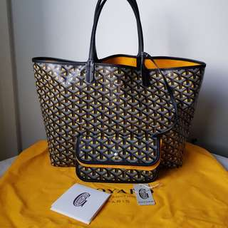 BN GOYARD Limited Edition St Louis 'Claire Voie' PM in Yellow