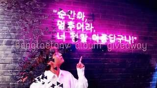 GIVEAWAY ALBUM BTS LY TEAR