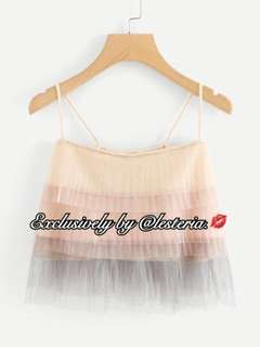 Felyn Ombre Tulle Cami