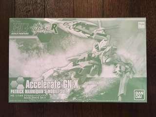 Gundam - HGBF ACCELERATE GN-X