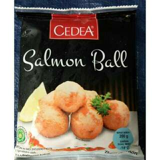 Cedea Salmon Ball Isi 10 Pcs