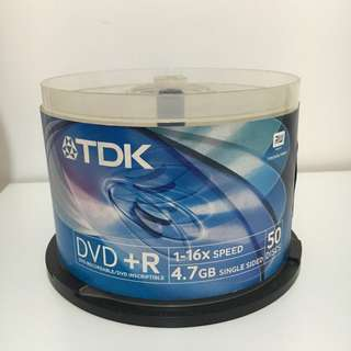 DVD +R 4.7GB 16x Speed TDK