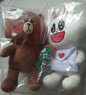 Line friends plush toy