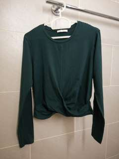 Zara knotted long sleeve