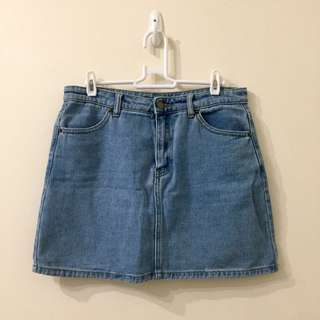 Forever21 Denim Mini Skirt