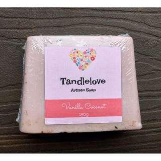 Vanilla Coconut Artisan Soap (150g)