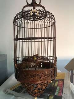 50 years Puteh 9' cage