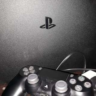 PS4 SLIM 1TB Black ALL Accessories INCLUDED