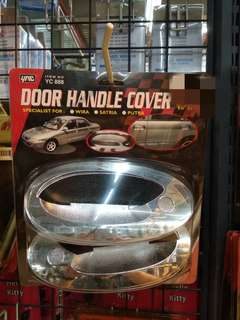 Door handle cover wira chrome