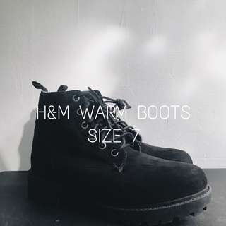 H&M WARM BOOTS