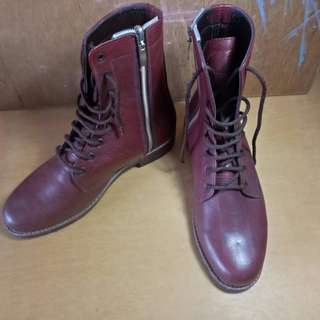 New hand made boots from pakistan