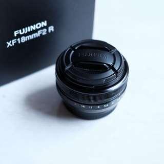 Fujinon xf 18mm f2 muluuus lengkap seperti beli baru