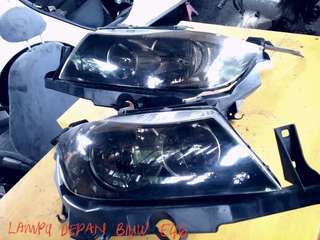 Head lamp BMW E46